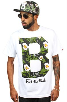 Hawaiian Drugs White Tee by Breezy Excursion
