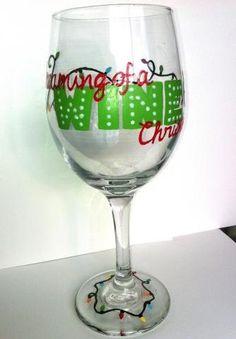 "Christmas Gift - ""Dreaming of a Wine Christmas"""