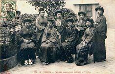 a group postcard from Tonkin, Vietnam