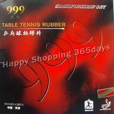 """2 חתיכות 999 999 T פיפס-בטניס שולחן פינג פונג עם ספוג 2.2 מ""""מ H44-45"""