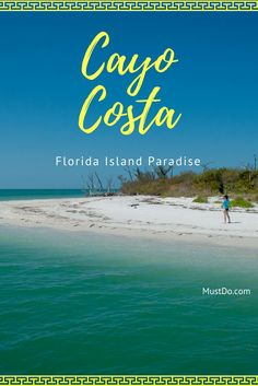 Once you arrive at Cayo Costa State Park you'll be rewarded with 9 miles of beautiful beaches. #florida