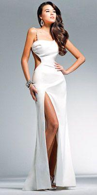 Nuevos diseños en vestidos para fiestas