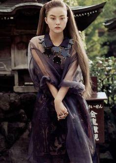 Devon Aoki' Vogue Japan