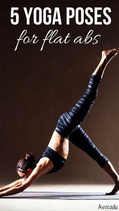 Yoga requires a LOT of core strength. It can help you get fabulous abs whether you're in it just for the ab workout or whether your end goal is to be able to do some of the more advanced yoga poses. http://avocadu.com/yoga-for-flat-abs/