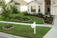 Cool 63+ Simple And Beautiful Front Yard Landscaping On A Budget http://goodsgn.com/gardens/63-simple-and-beautiful-front-yard-landscaping-on-a-budget/ #LandscapeOnABudget #LandscapingOnABudget