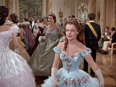 Romy Schneider as Empress Sissi in the Sissi-trilogie Romy Schneider, Barbie, Empress Sissi, Wedding Painting, Princess Aesthetic, Movie Costumes, Period Costumes, Beautiful Gowns, Beautiful Costumes