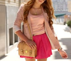 Sunny day pink outfit