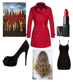 """My Halloween Costume (Pretty Little Liars)"" by hannahkaymusic ❤ liked on Polyvore featuring NARS Cosmetics"