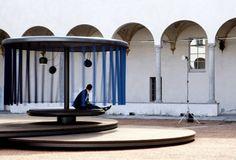 Quiet Motion installation by Ronan & Erwan Bouroullec for BMW, Milan