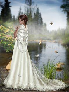The Swan Princess by AliaChek.deviantart.com on @DeviantArt