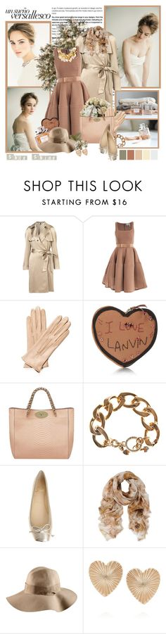 """""""Shoe shine"""" by helleka ❤ liked on Polyvore featuring Lanvin, Mulberry, Christian Dior, Juicy Couture, Christian Louboutin, H&M, Bing Bang, Lizzie Fortunato Jewels, heart earrings and wide brim hats"""