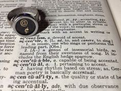 Typecast Rings Strong Accent by LongingFor on Etsy, $25.00