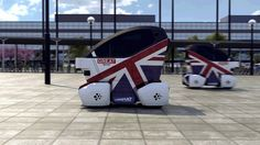 Trials of driverless cars in the UK
