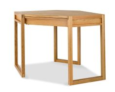 Studio Oak Corner Desk is magnificent and made to the highest standard quality of Oak. More details: http://solidwoodfurniture.co/product-details-oak-furnitures-4187-studio-oak-corner-desk.html