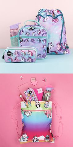 Funny Pencil Cases, Cute Lunch Bags and School Backpacks for Kids Unicorn Kids, Unicorn Crafts, Cute Unicorn, Cute Baby Boy Photos, Unicorn Fashion, Cute Disney Pictures, Bff Birthday Gift, Diy Crafts For Girls, Barbie