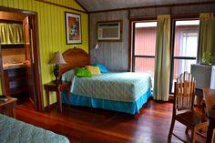 Inside bungalow #23 at Anthony's Key Resort, Roatan
