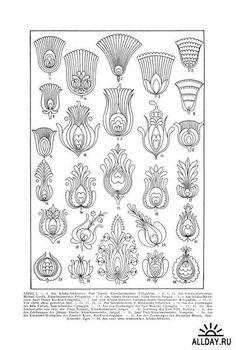 Национальный орнамент в декоративно-прикладном искусстве народов мира (17 книг)