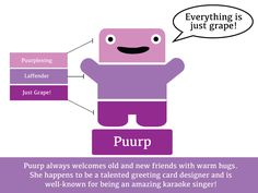 Puurp the Paint Chip Pal
