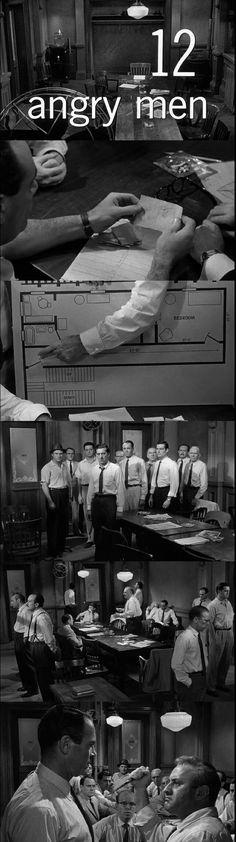 12 Angry Men Directed by Sidney Lumet. Cinematography by Boris Kaufman. The Hangover, Digital Film, Free Films, Film Inspiration, Film School, Video Film, Movie List, Film Stills, Film Director