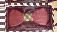 Check out this item in my Etsy shop https://www.etsy.com/listing/221835065/handcrafted-wooden-bow-tie-made-from