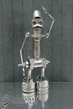 STC Scrap Sculptures 2013 - Metal Robot Man