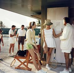 Slim Aarons // Tennis in the Bahamas