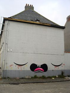 crying house #house #street_art