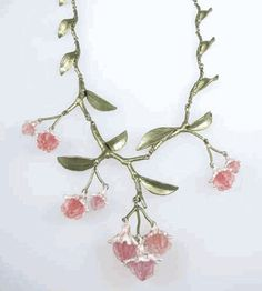 Silver Seasons - Michael Michaud - Mountain Laurel Necklace.  Too bad he makes them so short