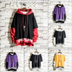Mens Hip Hop Pullover Hoodies Streetwear 4 Colors Up to off Indian Men Fashion, Dope Fashion, Fashion Pants, Timberland Outfits, Timberland Heels, Timberland Fashion, Red Hoodie, Hoodie Jacket, Boys Hoodies