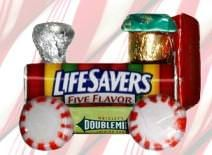 Lifesavers Candy Train Ornament {activities for kids} via @tipjunkie