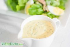 Our Low Carb Caesar dressing doesn't contain sugar, additives or artificial preservatives, and it's a great source of fat and flavor.