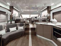 Un yacht de luxe aménagé par la décoratrice Kelly Hoppen Top Interior Designers, Best Interior Design, Interior Design Inspiration, Interior Designing, Interior Modern, Interior Decorating, Decorating Ideas, Decor Ideas, Kelly Hoppen Interiors