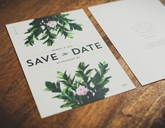 Designed for the nuptials between my wife and I back in 2014. The aesthetic goal…