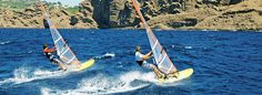 Windsurfing Gear at Discout Prices - Awesome Online Outfitter - Windsurfing Gear of all kinds - Sails, Boards, Masts, Booms, Harnesses and Accessories - Videos of windsurfing and a lot of useful links - #windsurfing #windsailing #watersports
