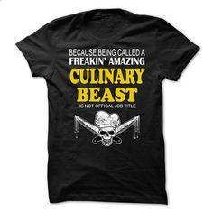 CHEF CULINARY BEAST - #design shirts #mens zip up hoodies. ORDER HERE =>…