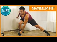 Maximum HIIT Workout for Weight Loss with Mike Donavanik is an explosive, 15 Minute total body fat burn workout routine that is designed to incinerate fat, b...
