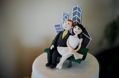 Cute cake topper, but no idea who made it!