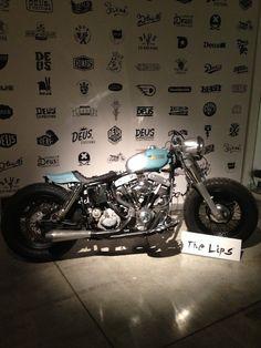 The Lips - Harley-Davidson FLH Shovelhead swingarm custom