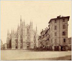 il Rebecchino - demolito nel 1875 per creare #piazzaduomo - #Milano