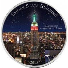 Empire State Building jest obok Statui Wolności najlepiej rozpoznawalnym nowojorskim obiektem. Nazwa wieżowca wywodzi się od przydomku stanu Nowy Jork - Empire State. Skarbnica Narodowa