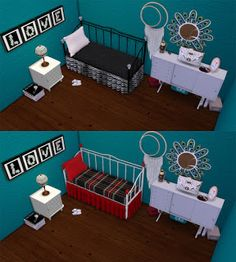 CC FOR SIMS 4: SIMS 4 DAYBEDS AND PILLOWS