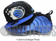 on sale 40c1d 52bf4 Orlando magic air max 95 midnight navy matching new era 59fifty fitted cap