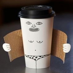 funny coffee package