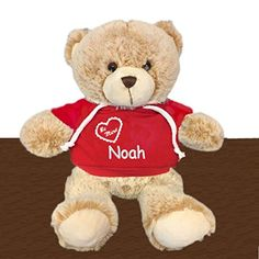 21de8ca876e Personalized Be Mine Snuggle Teddy Bear - Brown