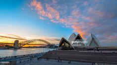 Stock Photo : Two landmark of Sydney