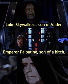 Fitness funny humor awesome movies ideas for 2019 Star Wars Trivia, Star Wars Meme, Star Wars Facts, Theme Star Wars, Star Wars Clone Wars, Prequel Memes, Funny Memes, Hilarious, Funny Quotes