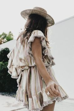 Perfect vintage inspired summer dress