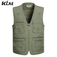 2016 New Summer Outdoors Travels Vests Mesh Vest XL 5XL Photographer Vest Shooting Vest with Many Pocket Wholesale-in Vests & Waistcoats from Men's Clothing & Accessories on Aliexpress.com | Alibaba Group