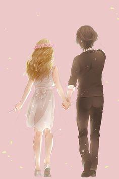 anime, love, and couple image Manga Anime, Manga Art, Anime Kiss, Manga Love, Anime Love, Anime Cosplay, Photo Manga, Otaku, Manga Couple