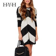 2cbdac8cbb7 The Volcom Twisted Black and Cream Striped Sweater Dress brings a twist of  excitement and wonder to your cold weather wardrobe!